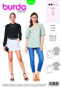 6424 Burda Pattern: Ladies Tops